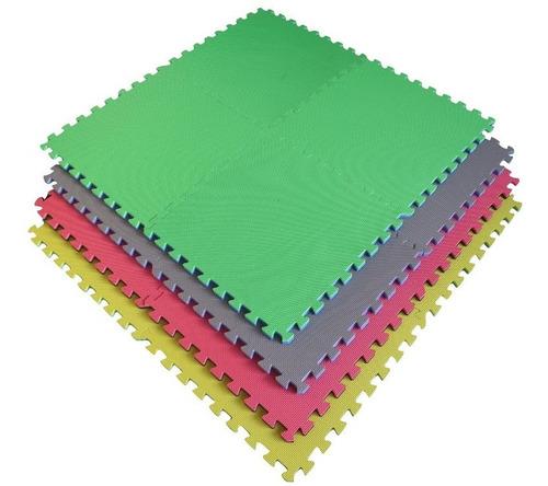 pisos encastrable de goma eva 60x60 x20 mm x 1 pieza