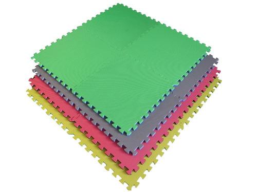 pisos encastrable de goma eva 60x60 x20 mm x 16 piezas