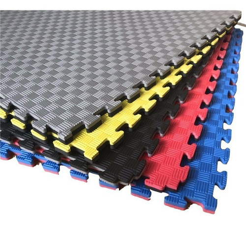 pisos encastrable de goma eva 60x60 x20 mm x 9 piezas