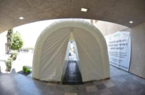 pisos epóxicos, sanitización, sistemas aa, túnel sanitizante