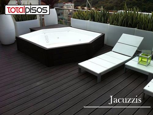 pisos exteriores decks piscinas, terrazas, muelles, fachadas