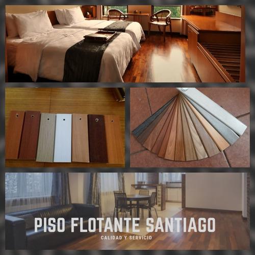 pisos flotantes instalados
