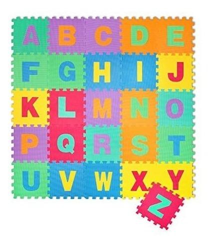 pisos goma eva love 865 set x 13 unidades de letras