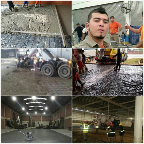 pisos industriales allaneado hormigón general