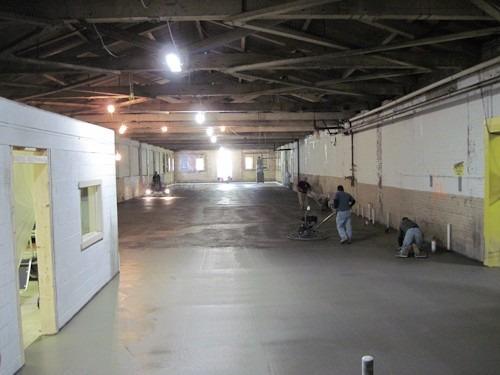 pisos  industriales de hormigon con elicoptero