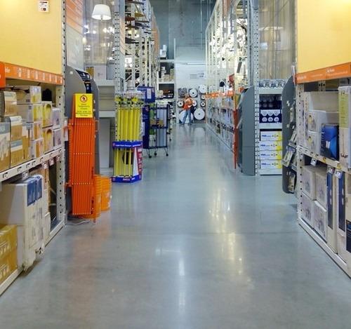 pisos industriales, demarcación y señalética. sibaco