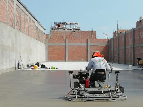 pisos industriales,y pulido de pisos con alisadoras