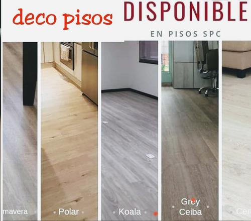 pisos laminados spc pvc madera maciza