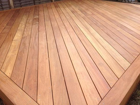 Pisos Madera Teca Deck Exterior Terrazas Calida Exportacion