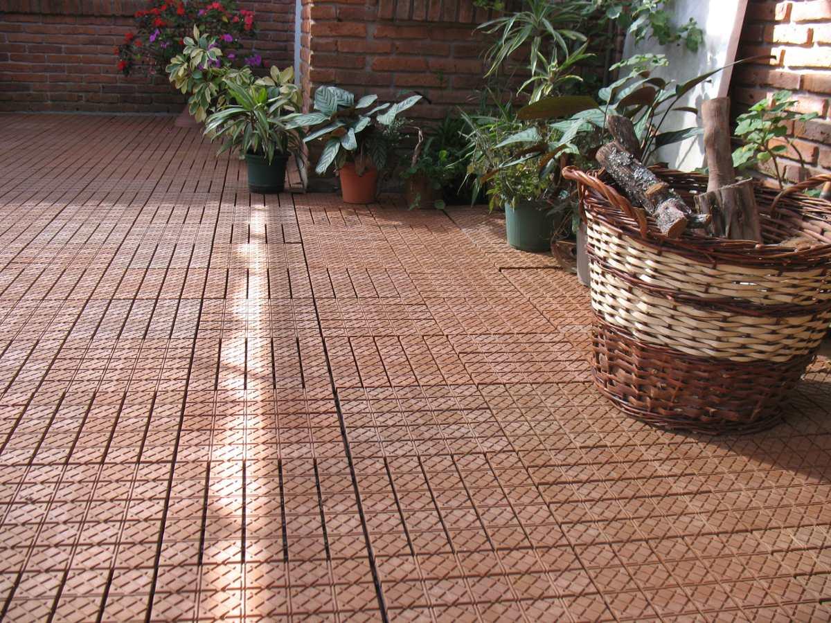 Pisos para exteriores albercas patios terrazas en mercado libre - Baldosas para patios ...