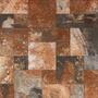 Ceramica Piso 57x57 Cm Oxido Marron Interior Exterior