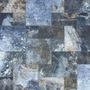 Ceramica Piso 57x57 Cm Azul Con Gris Interior Exterior
