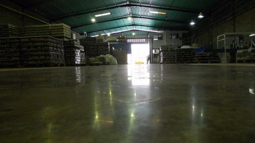 pisos ultrapulidos en concreto - industrial