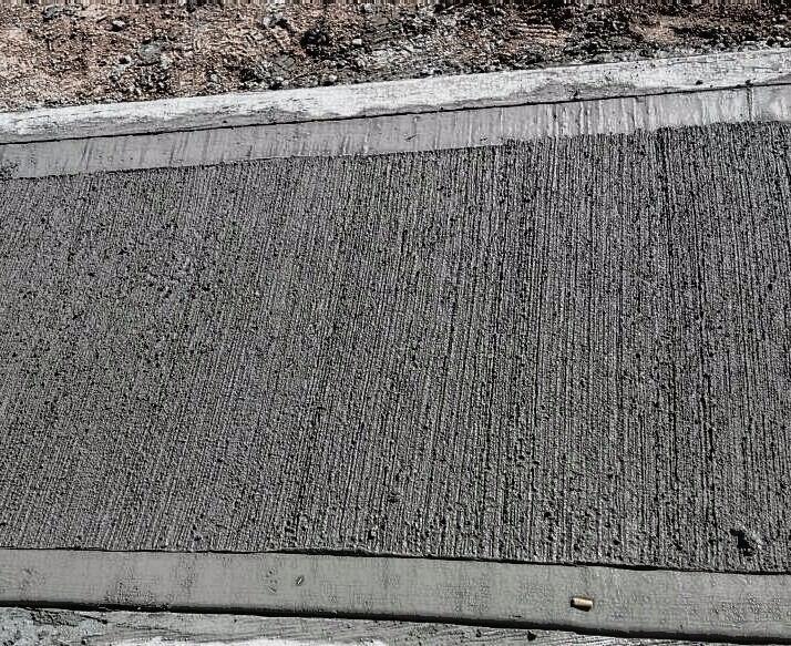Pisos veredas galpones hormigon alisado peinado 100 en for Pisos para veredas
