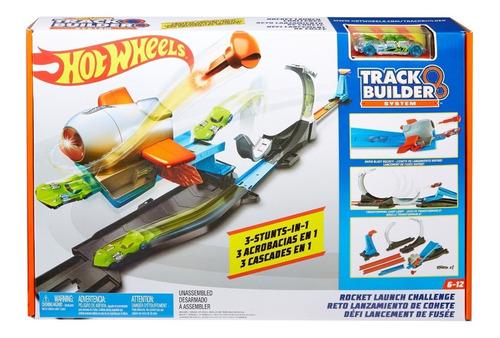 pista 3 acrobacias en 1 - trackbuilder - hotwheels