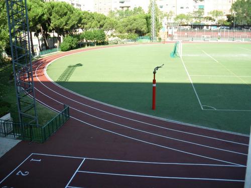 pista atlética - atletismo - carril trote perú