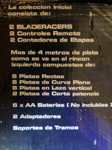pista bladeracers the new generation in high speed racing