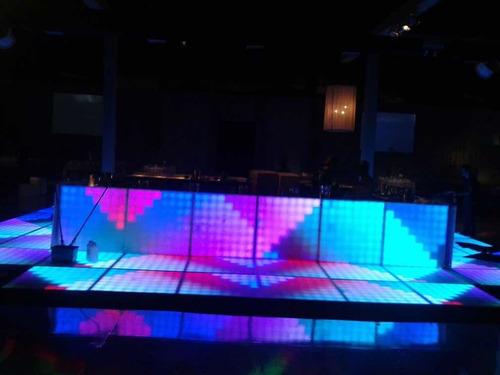 pista  dança de led , monte sua pista temos 120 módulos