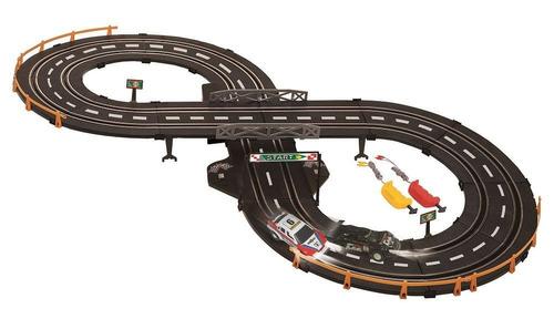 pista de auto con pulsador (1182)