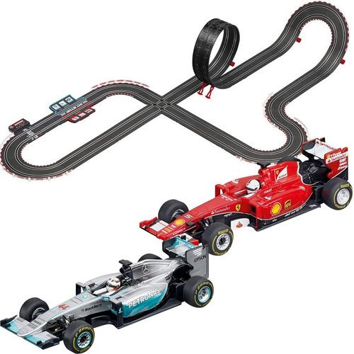 pista de autos de carreras next race interactiva carrera go!