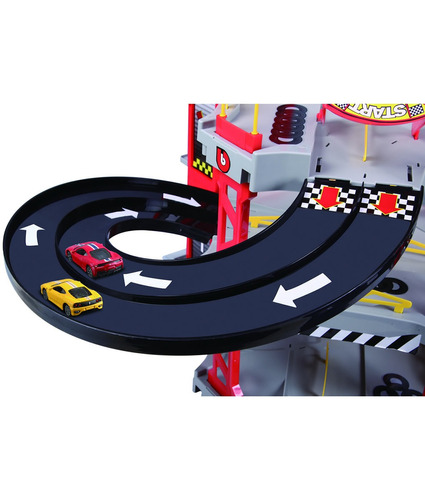 pista de autos juguete bburago ferrari downhill racing garag