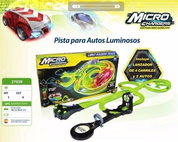 Pista de autos micro chargers light racers track original pista de autos micro chargers light racers track original aloadofball Images