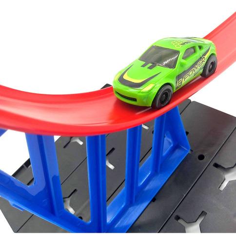 pista de autos speed power track racing triple loop