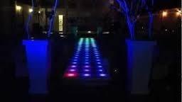 pista de baile led   -----      pasarela led