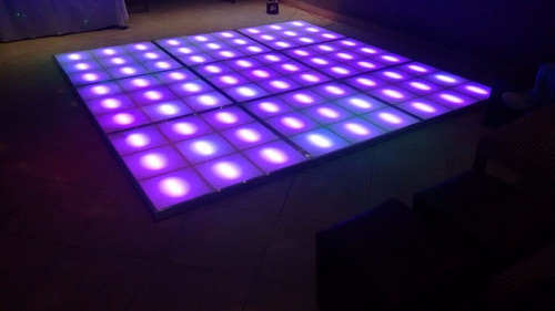 pista de baile led zona sur iluminacion audio copos juegos