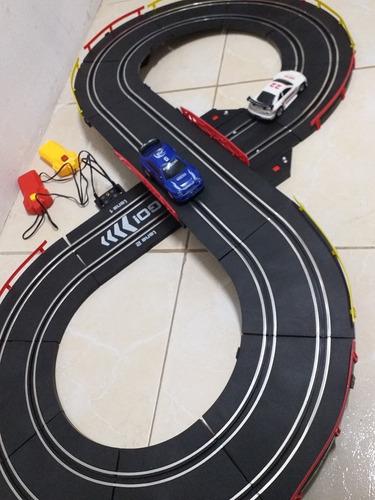 pista de coches eléctrica vico