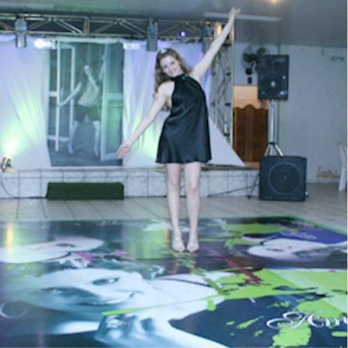 pista de dança personalizada (5x5)metros