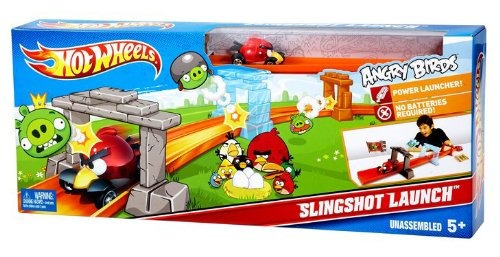 Pista De Hot Wheels De Mattel Angry Birds Juego 111 900 En