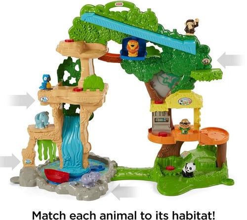 pista fisher price safari little people share juego niños