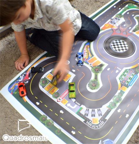 pista hot wells tapete cidade divertida criança brincar p