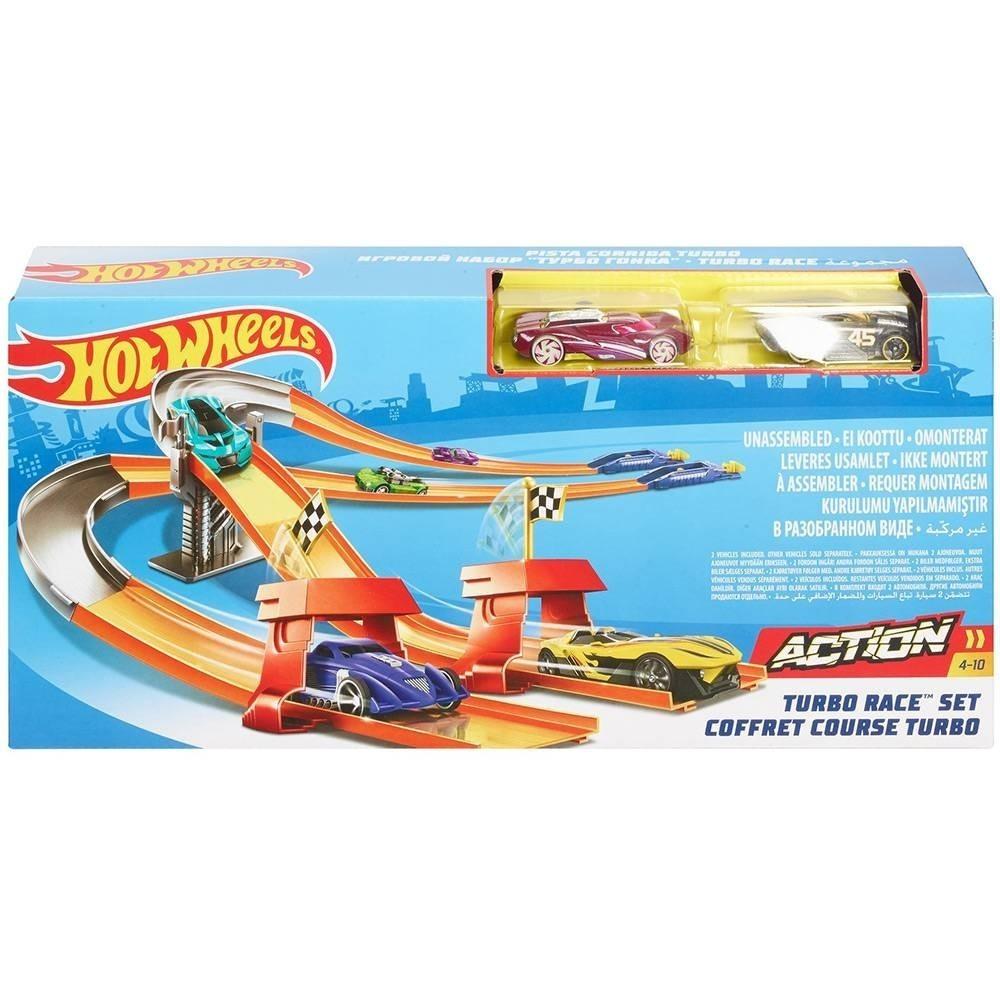 Circuito Hot Wheels : Pista hot wheels action circuito turbo corrida mattel r