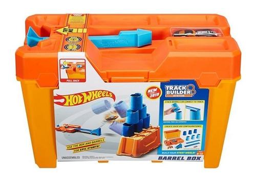 pista hot wheels caixa de desafio com obstáculos mattel