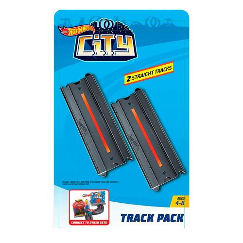 pista hot wheels - city - pacote pistas - retas - mattel