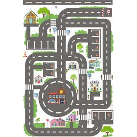 Pista Hot Wheels Grande Cidade Para Carrinhos Ilustrada Gg
