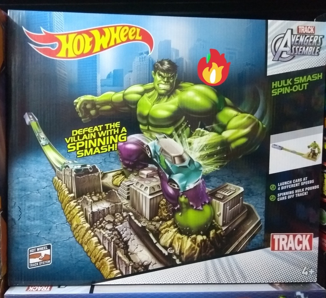 popular brand delicate colors buying cheap Pista Hot Wheels Hulk