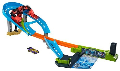 pista hot wheels max steel dredd circuito multicolor