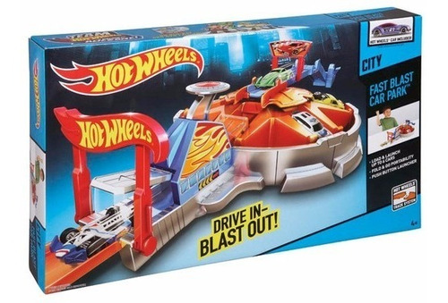 pista hot wheels super párque explosivo  original de mattel
