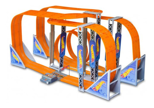 pista hot wheels track set zero gravity slot car