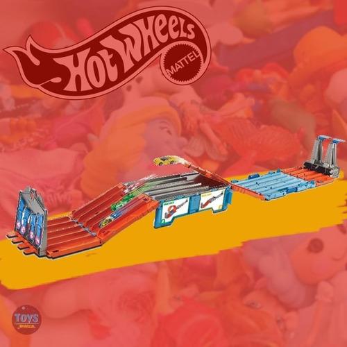pista hotwheels race crate original
