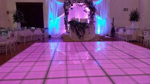 pista iluminada toluca metepec renta pista de baile leds