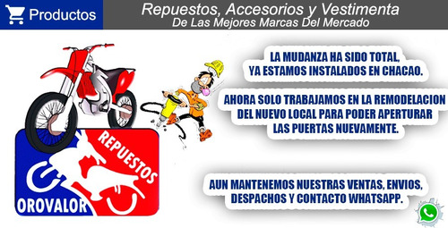 pista kit bera scooter runner porsche 150 repuestos orovalor