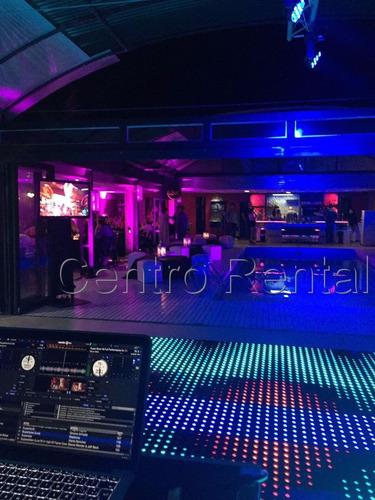 pista led pixel dance floor