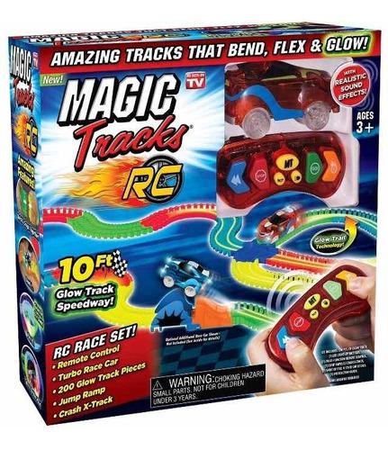 pista magic tracks rc de un carro en oferta