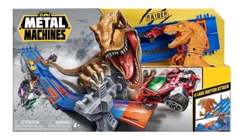 pista metal machines 4 lane raptor attack  candide