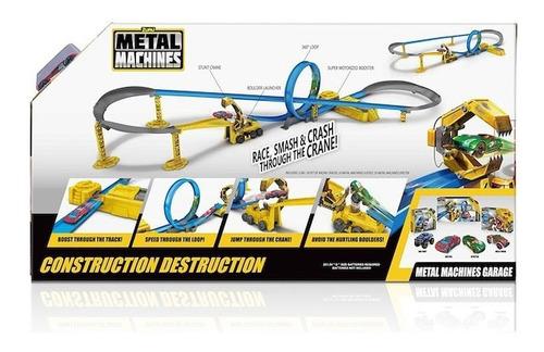 pista metal machines construction destruction 2 autitos