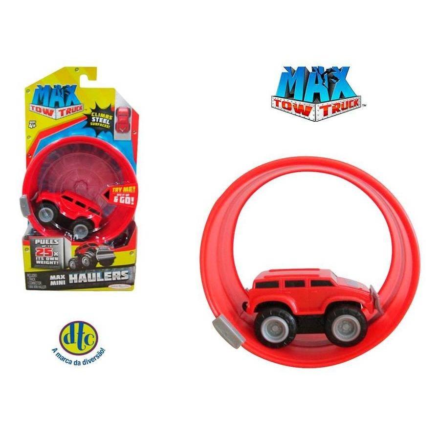 Pista Mini Max Tow Truck Furgão Vermelho Dtc R 3990 Em Mercado